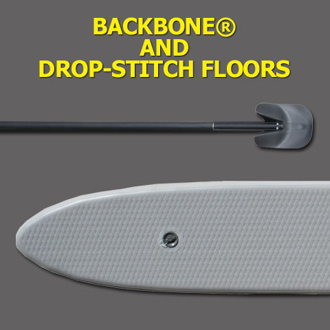 Backbone and Drop-stitch Floors