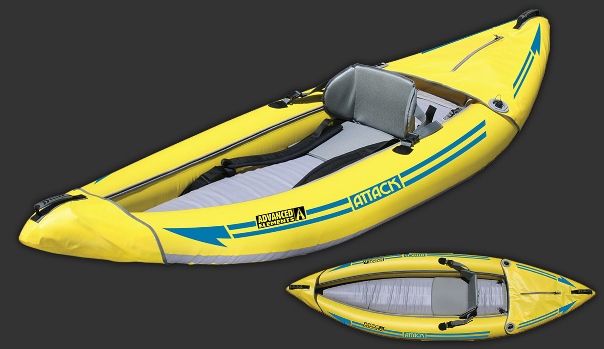ATTACK™ WHITEWATER KAYAK: AE1050-Y | Advanced Elements