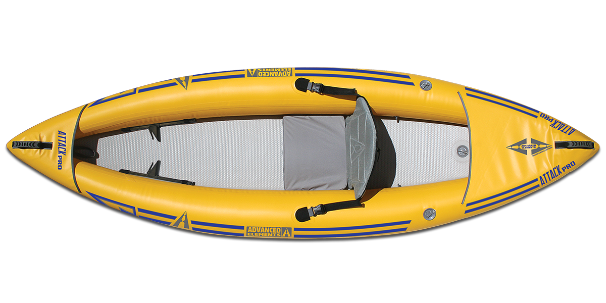 ATTACK™ PRO WHITEWATER INFLATABLE KAYAK: AE1051-Y